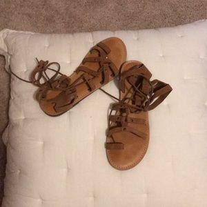 American Eagle gladiator sandals